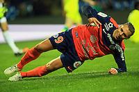 joie Kevin BERIGAUD  - 24.01.2015 - Montpellier / Nantes  - 22eme journee de Ligue1<br />Photo : Nicolas Guyonnet / Icon Sport