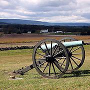 12-pounder Napoleon cannon, Gettysburg battlefield