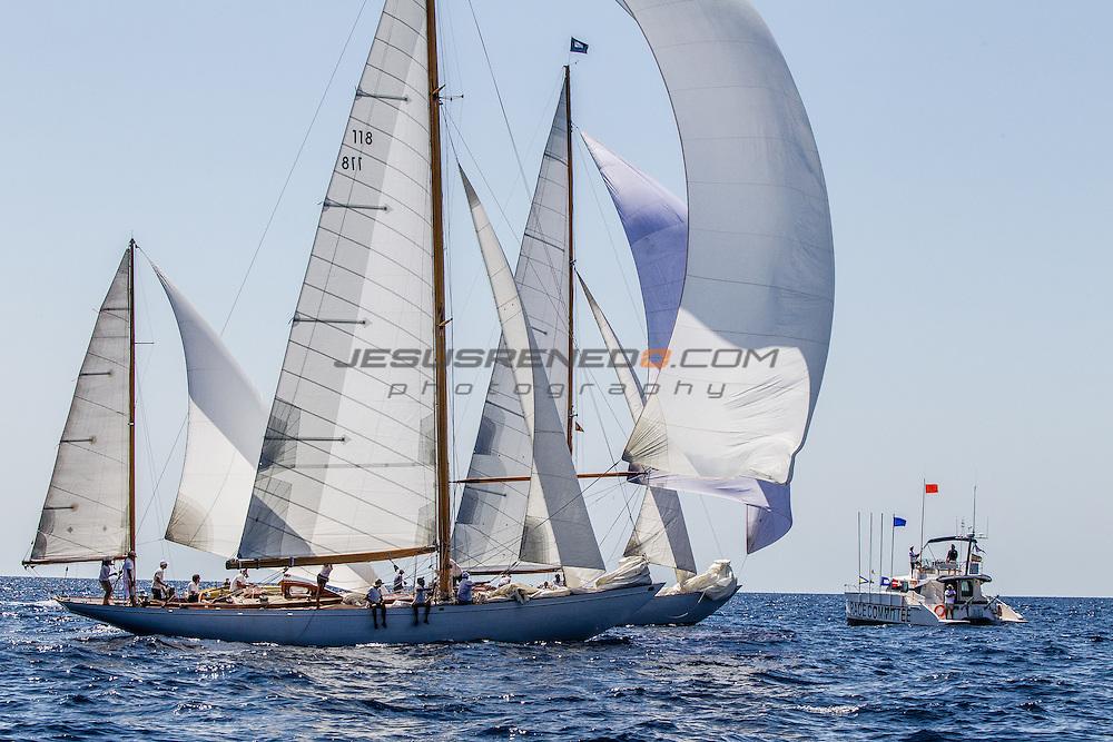 The Classic Silver Bollard Regatta 2014. Port Adriano, © Jesus Renedo