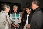 TACITA DEAN; MARIA BALSHAW; LADY SARAH CHATTO; EARL OF SNOWDON Opening of The New Royal Academy of arts, London. 15 May 2018
