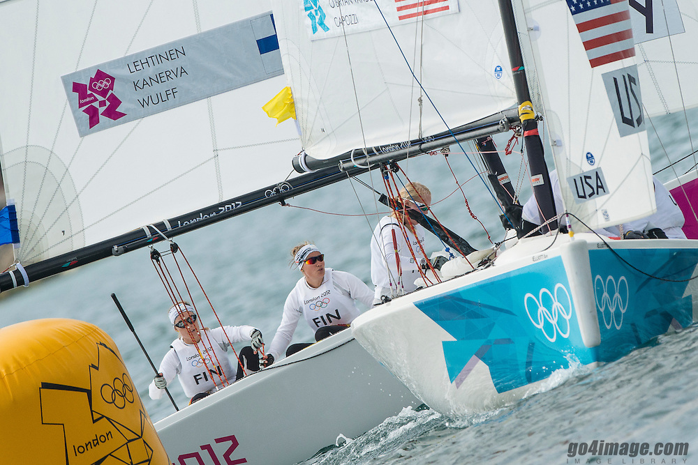 2012 Olympic Games London / Weymouth<br /> Match Race Quarter Final