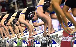 04-04-2015 NED: Swim Cup, Eindhoven<br /> Gaja Natlacen SLO, 400m freestyle<br /> Photo by Ronald Hoogendoorn / Sportida
