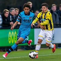 ARNHEM - 27-03-2017, Jong Vitesse - Jong AZ, Sport center Papendal, Jong AZ speler Calvin Stengs
