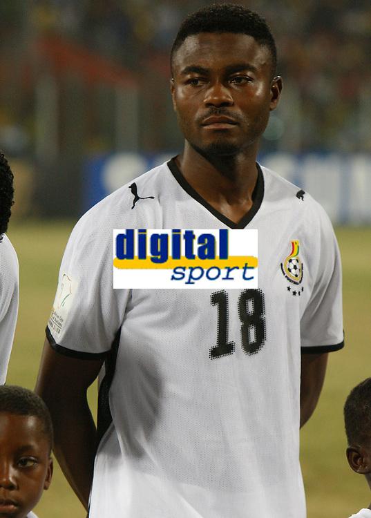 Photo: Steve Bond/Richard Lane Photography.<br />Ghana v Namibia. Africa Cup of Nations. 24/01/2008. Eric Addo of Ghana and PSV
