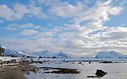 Vikspollen at Gimsöya, Lofoten, Norway in February 2013.