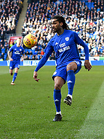 Football - 2017 / 2018 Sky Bet EFL Championship - Cardiff City vs. Middlesbrough<br /> <br /> Armand Traore of Cardiff City on the ball, at Cardiff City Stadium.<br /> <br /> COLORSPORT/WINSTON BYNORTH