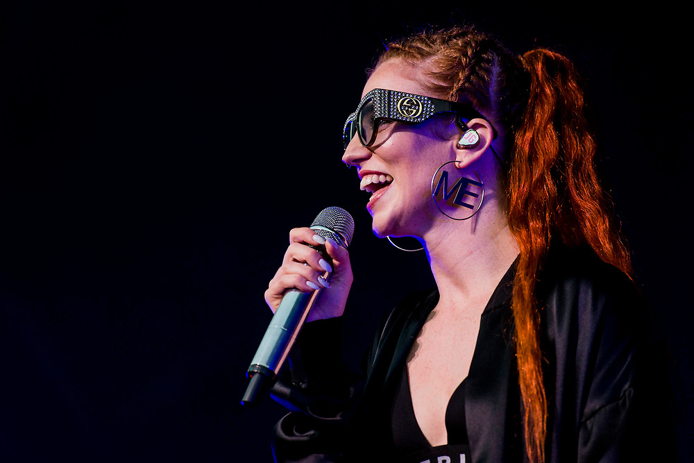 Jess Glynne plays the floating stage - Henley Festival is a boutique event over five days celebrating the best of UK & international music and arts with a programme from pop to world music, classical to jazz, blues to jazz musicians, where art, comedy and gastronomy share equal billing with music.