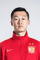 **EXCLUSIVE**Portrait of Chinese soccer player Xu Xin of Guangzhou Evergrande Taobao F.C. for the 2018 Chinese Football Association Super League, in Guangzhou city, south China's Guangdong province, 8 February 2018.