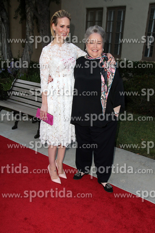 Sarah Paulson, Kathy Bates, at the &quot;American Horror Story: Freak Show&quot; For Your Consideration Screening, Paramount Studios, Los Angeles, CA 06-11-15. EXPA Pictures &copy; 2015, PhotoCredit: EXPA/ Photoshot/ Martin Sloan<br /> <br /> *****ATTENTION - for AUT, SLO, CRO, SRB, BIH, MAZ only*****