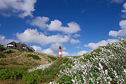 Sylt, Germany. The lighthouse at Hörnum-Odde, Sylt's Southern tip.