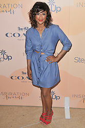 Sarayu Blue arrives at Step Up's 14th Annual Inspiration Awards held athe Beverly Hilton in Beverly Hills, CA on Friday, June 2, 2017. (Photo By Sthanlee B. Mirador) *** Please Use Credit from Credit Field ***