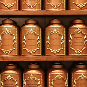Coffee Pots at Fortnum & Mason, London, England (May 2007)