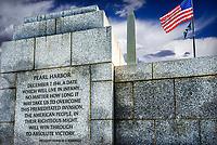 WWII Memorial, Washington, DC USA