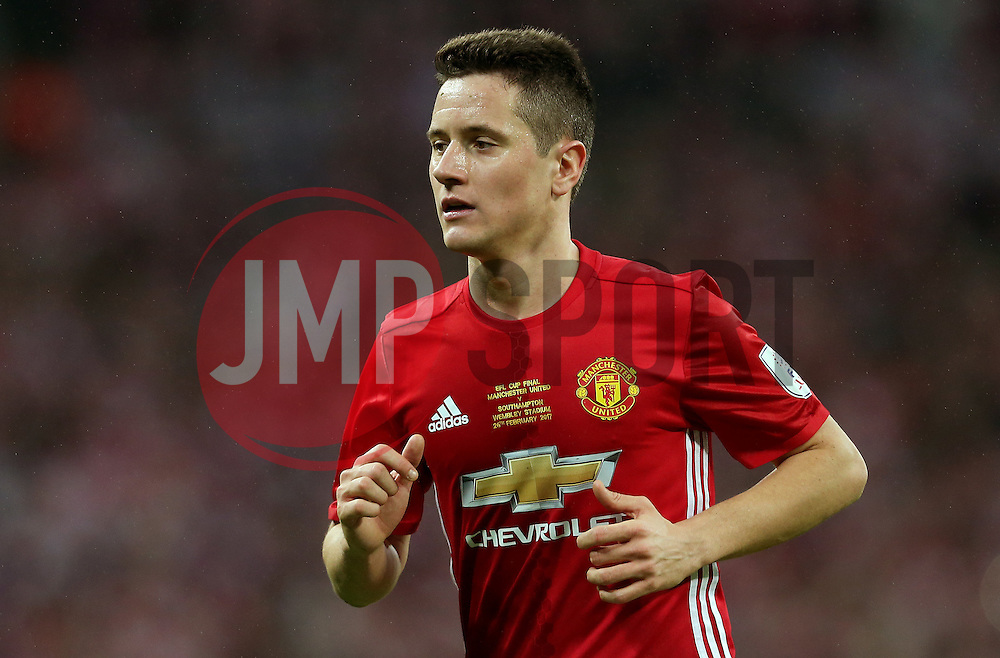 Ander Herrera of Manchester United  - Mandatory by-line: Matt McNulty/JMP - 26/02/2017 - FOOTBALL - Wembley Stadium - London, England - Manchester United v Southampton - EFL Cup Final