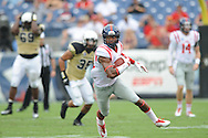 Ole Miss Rebels wide receiver Cody Core (88) vs. Vanderbilt at L.P. Field in Nashville, Tenn. on Saturday, September 6, 2014. Ole Miss won 41-3.