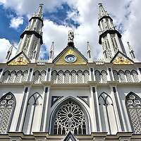 Iglesia del Carmen in Panama City, Panama<br />