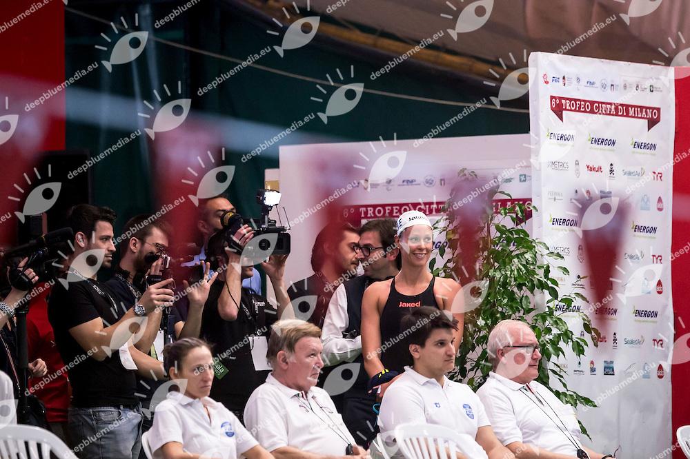 Pellegrini Federica Canottieri Aniene<br /> <br /> VI Trofeo Citta di Milano Swimming Nuoto<br /> Day 01 - 18 Marzo 2016<br /> D. Samuele Swimming Pool<br /> Milano Italy<br /> Photo P.Mesiano/Deepbluemedia/Inside