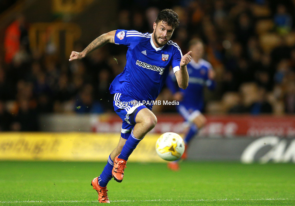 Brentford's Marco Djuricin during the Sky Bet Championship match at Molineux, Wolverhampton.