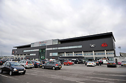 A general view of the AJ Bell Stadium - Photo mandatory by-line: Patrick Khachfe/JMP - Mobile: 07966 386802 06/09/2014 - SPORT - RUGBY UNION - Manchester - AJ Bell Stadium - Sale Sharks v Bath Rugby - Aviva Premiership