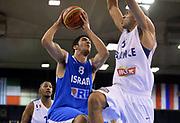 DESCRIZIONE : Lubiana Ljubliana Slovenia Eurobasket Men 2013 Preliminary Round Francia Israele France Israel<br /> GIOCATORE : Lior Eliyhau<br /> CATEGORIA : tiro shot<br /> SQUADRA : Israele Israel <br /> EVENTO : Eurobasket Men 2013<br /> GARA : Francia Israele France Israel<br /> DATA : 06/09/2013 <br /> SPORT : Pallacanestro <br /> AUTORE : Agenzia Ciamillo-Castoria/T.Wiedensohler<br /> Galleria : Eurobasket Men 2013<br /> Fotonotizia : Lubiana Ljubliana Slovenia Eurobasket Men 2013 Preliminary Round Francia Israele France Israel<br /> Predefinita :