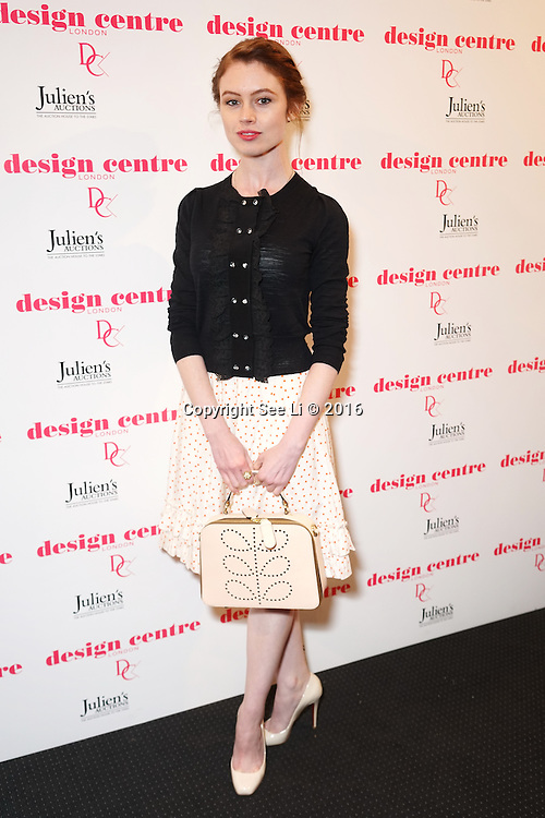 London,England,UK : 25th May 2016 : Sarah Winter attend the Marilyn Monroe: Legacy of a Legend launch at the Design Centre, Chelsea Harbour, London. Photo by See Li