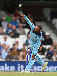 England's Adil Rashid during the ICC Cricket World Cup Warm up match at The Oval, London.