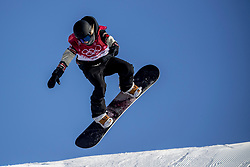 19-02-2018 KOR: Olympic Games day 10, Pyeongchang<br /> Snowboard Big Air qualification at Alpensia Ski Jumping Centre / Laurie Blouin CAN