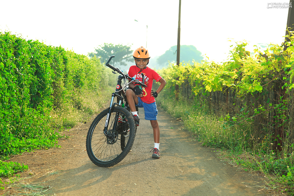BIKER BOY, CYCLING IS FAST BECOMMING THE LIFESTYLE OF URBAN INDIA.