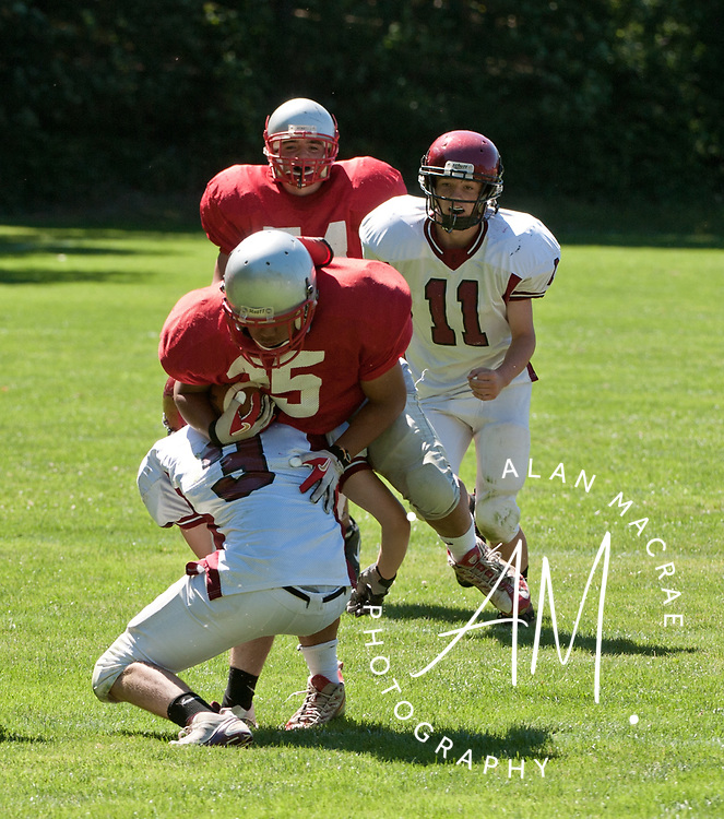 Laconia - Concord scrimmage.  (Alan MacRae/for the Citizen)