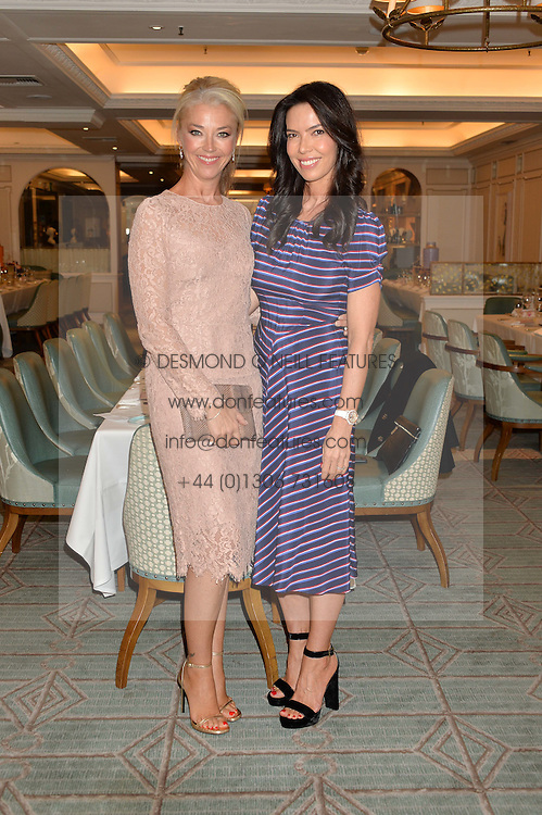 Left to right, TAMARA BECKWITH and JOSEPHINE DANIEL at the 3rd annual Gynaecological Cancer Fund Ladies Lunch at Fortnum & Mason, 181 Piccadilly, London on 29th September 2016.