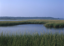View of Southampton Inlet on a summer day, Southampton, NY
