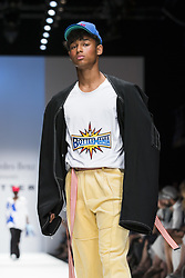 July 3, 2018 - Berlin, Germany - A model runs the runway during the Botter Fashion Show during the MBFW Spring Summer 2019 at ewerk in Berlin, Germany on July 3, 2018. (Credit Image: © Emmanuele Contini/NurPhoto via ZUMA Press)