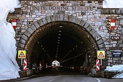 THEMENBILD - das Hochtor Tunnelportal im Bundesland Kärnten. Die Grossglockner Hochalpenstrasse verbindet die beiden Bundeslaender Salzburg und Kaernten und ist als Erlebnisstrasse vorrangig von touristischer Bedeutung, aufgenommen am 02. Juni 2019 in Fusch a. d. Grossglocknerstrasse, Österreich // the Hochtor tunnel portal in the federal state of Carinthia. The Grossglockner High Alpine Road connects the two provinces of Salzburg and Carinthia and is as an adventure road priority of tourist interest, Fusch a. d. Grossglocknerstrasse on 2019/06/02, Kaprun, Austria. EXPA Pictures © 2019, PhotoCredit: EXPA/ Stefanie Oberhauser