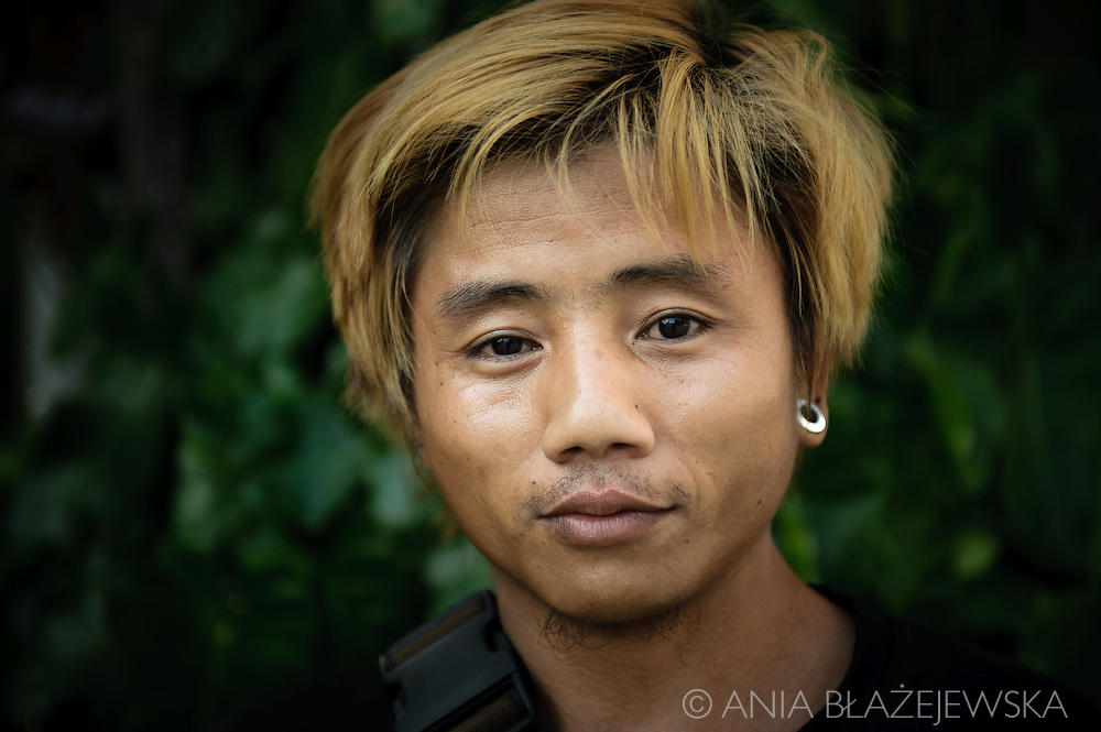 Thailand, Mae Sariang. Young boy from a small Thai town in the northwest part of the country.