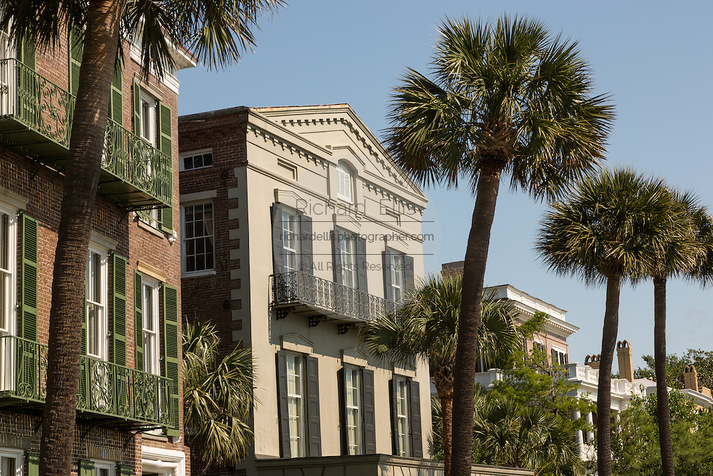 The William Ravenel House on East Battery in historic Charleston, SC.