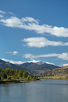 Yellowstone River Absaroka Mountains Montana
