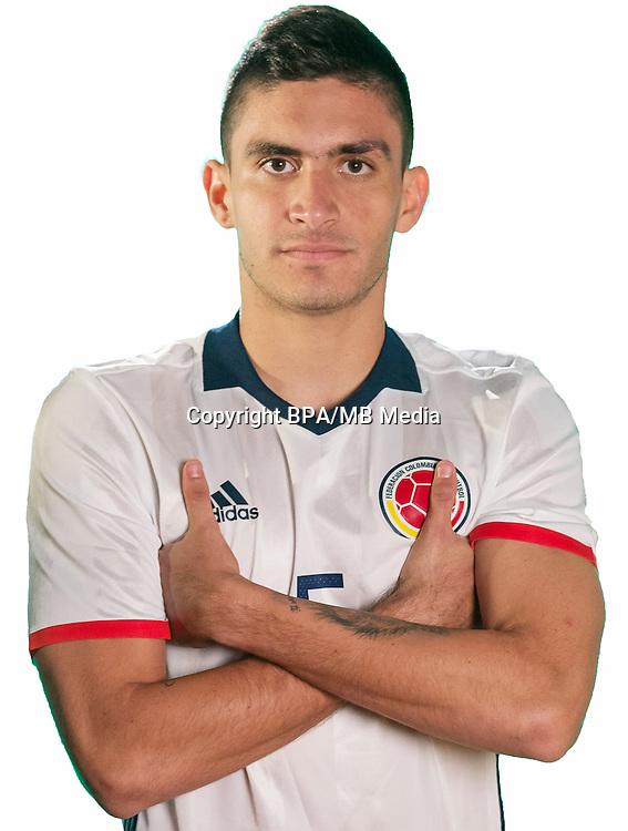 Football Conmebol_Concacaf - <br />Copa America Centenario Usa 2016 - <br />Colombia National Team - Group A - <br />Guillermo Celis