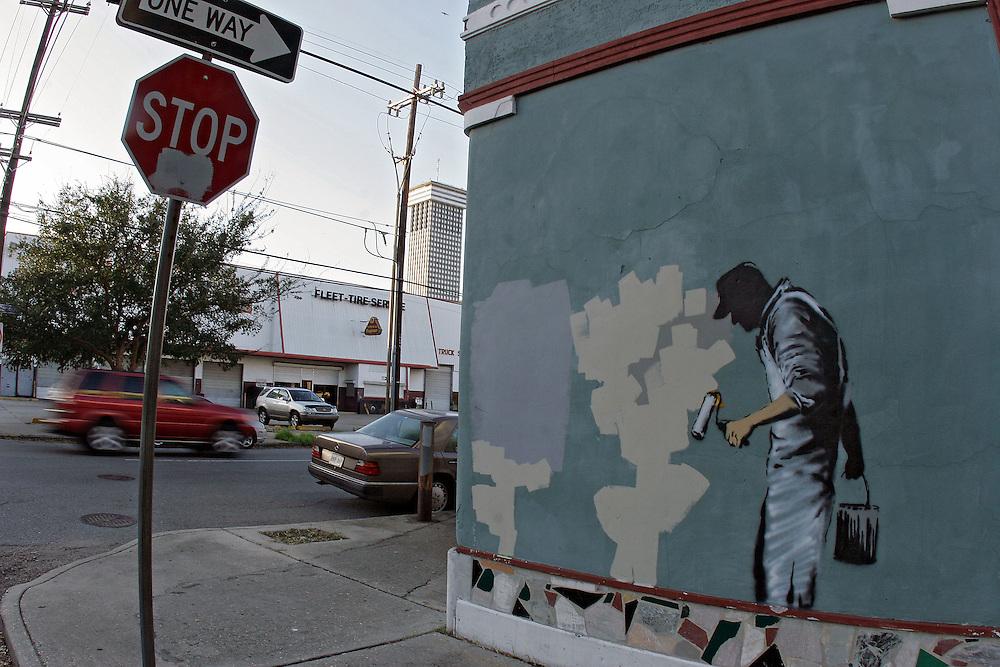 New Orleans, Louisiana, Banksy, Graffiti Art