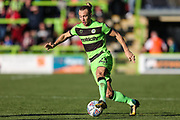 Forest Green Rovers Joseph Mills(23) runs forward during the EFL Sky Bet League 2 match between Forest Green Rovers and Cheltenham Town at the New Lawn, Forest Green, United Kingdom on 20 October 2018.