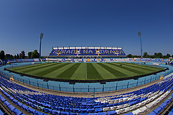 OSIJEK, CROATIA - Friday, June 7, 2019: A general view of the stadium before of a Wales training session at Stadion Gradski vrt ahead of the UEFA Euro 2020 Qualifying Group E match against Croatia. (Pic by David Rawcliffe/Propaganda)