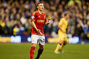 Nottingham Forest midfielder Ben Osborn  during the Sky Bet Championship match between Nottingham Forest and Leeds United at the City Ground, Nottingham, England on 27 December 2015. Photo by Simon Davies.