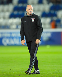 Wales Performance Psychologist Dr. Ian Mitchell during the 2018 FIFA World Cup Qualifying, Group D match at the Boris Paichadze Dinamo Arena, Tbilisi. PRESS ASSOCIATION Photo. Picture date: Friday October 6, 2017. See PA story SOCCER Georgia. Photo credit should read: Tim Goode/PA Wire. RESTRICTIONS: Editorial use only, No commercial use without prior permission.