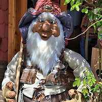 Troll Outside Pastry Shop in Frutillar, Chile<br />
