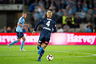 SYDNEY, AUSTRALIA - MAY 12: Melbourne Victory midfielder Keisuke Honda (4) controls the ball at the Elimination Final of the Hyundai A-League Final Series soccer between Sydney FC and Melbourne Victory on May 12, 2019 at Netstrata Jubilee Stadium in Sydney, Australia. (Photo by Speed Media/Icon Sportswire)