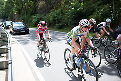 Lydia Boylan (IRL) of Team WNT rides near the back of the pack on Stage 1 of the Lotto Thuringen Ladies Tour - a 124.8 km road race, starting and finishing in Schleiz on July 13, 2017, in Thuringen, Germany. (Photo by Balint Hamvas/Velofocus.com)