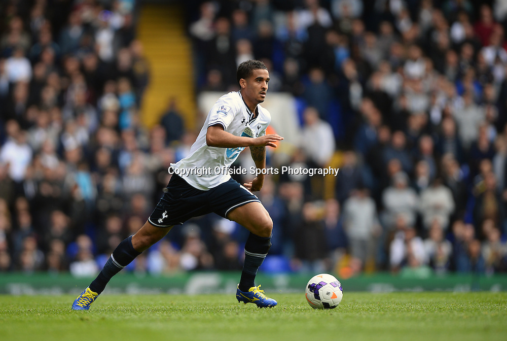 19 April 2014 - Barclays Premier League - Tottenham Hotspur v Fulham - Kyle Naughton of Tottenham Hotspur - Photo: Marc Atkins / Offside.