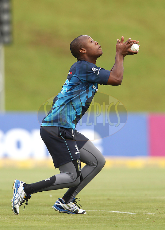 Mangaliso Mosehle of the Titans during the Titans practice session held as part of the  Karbonn Smart CLT20 South Africa held at Supersport Park Stadium in Centurion, South Africa on the 25rd October 2012..Photo by Shaun Roy/SPORTZPICS/CLT20