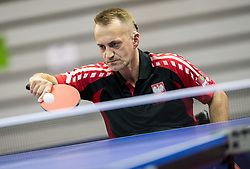 Nalepka Maciej of Poland in action during Day 3 of SPINT 2018 - World Para Table Tennis Championships, on October 19, 2018, in Arena Zlatorog, Celje, Slovenia. Photo by Vid Ponikvar / Sportida