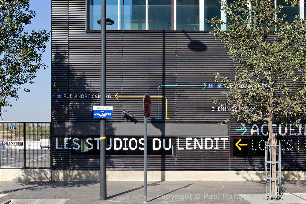 Lendit TV studios in Paris. Architects Lipsky Rollet.