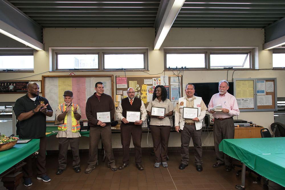 Cable Car Division Systemwide Operator of the Month | July 28, 2017